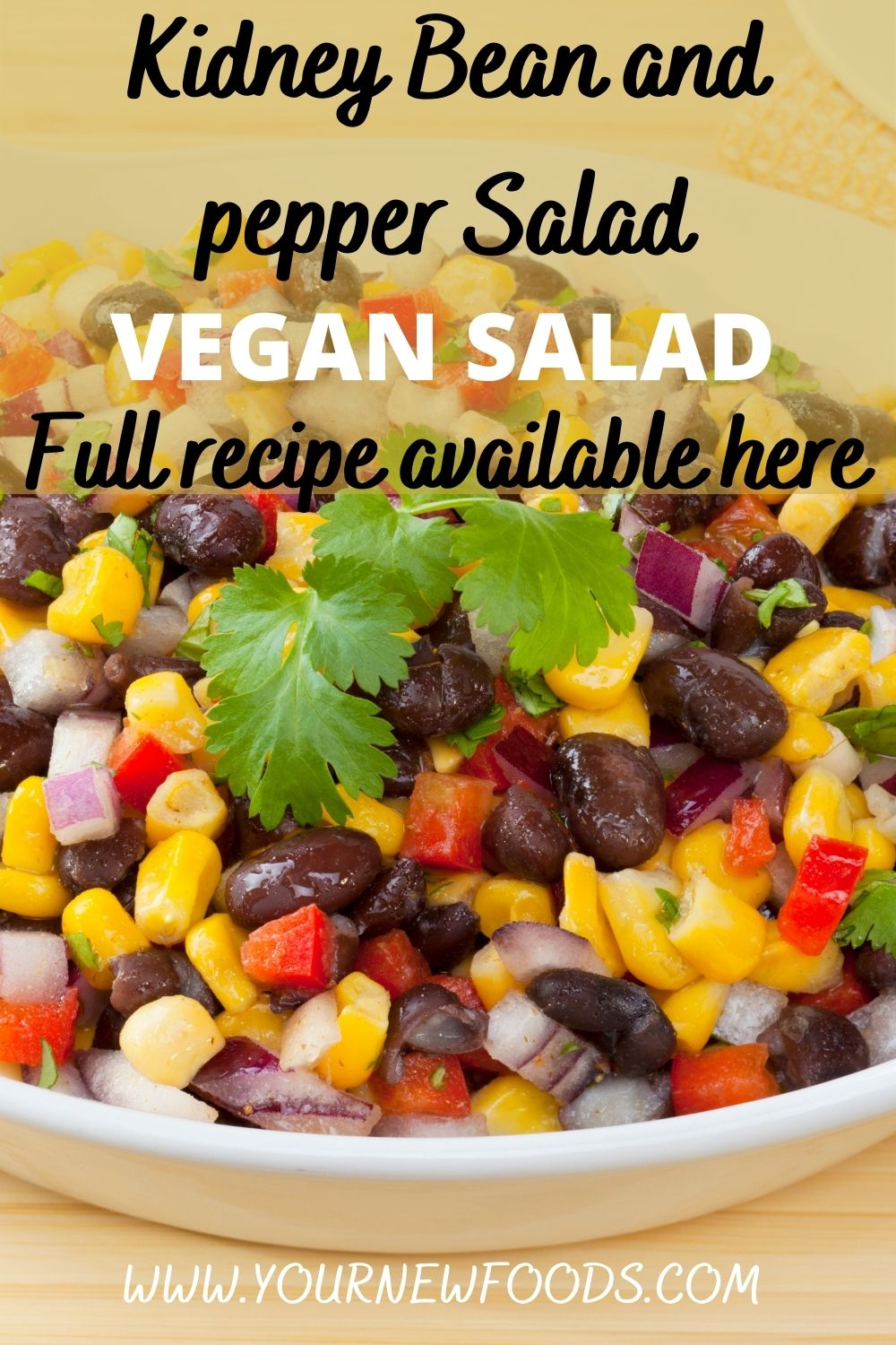 Kidney Bean and pepper Salad