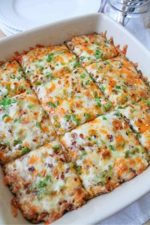 Mexican Brown Rice Bake Recipe