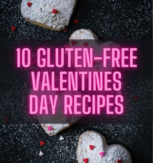 Banner for Gluten -free Valentines day recipes